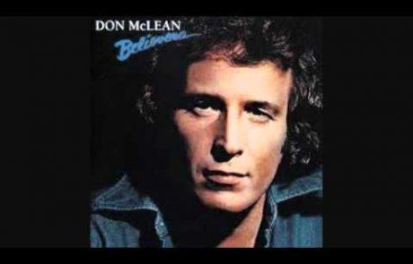 Don Mclean: Jerusalem