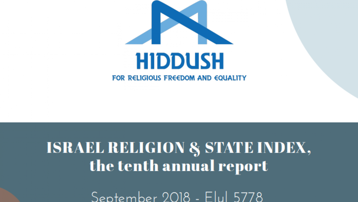 2018 Israel Religion & State Index