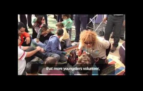 Special Needs Children Planting Israel's Future