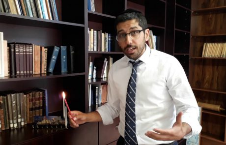 How to Light Hannukah Candles (Sephardic Tradition)