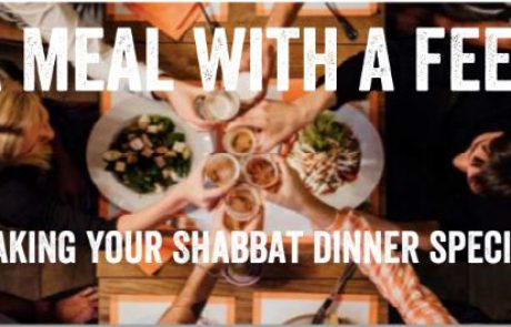 A meal with a feel  making your Shabbat dinner special